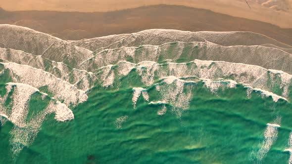 Thumbnail for Aerial view of hidden beach at Alexandria Bay, Australia.