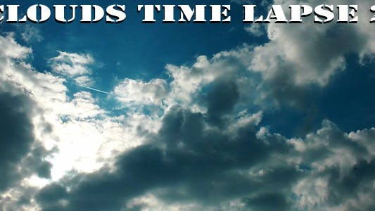 Thumbnail for Clouds 2 Time Lapse