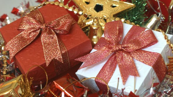 Thumbnail for Gift Box And Christmas Decoration 03