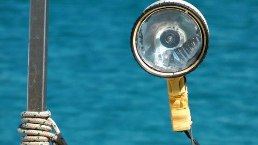 Thumbnail for Lamp on Boat and Sea