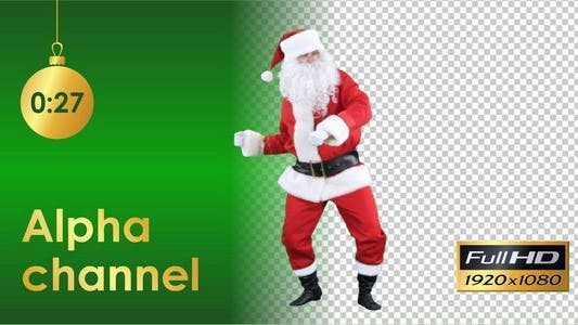 Thumbnail for Santa Claus Dancing 2