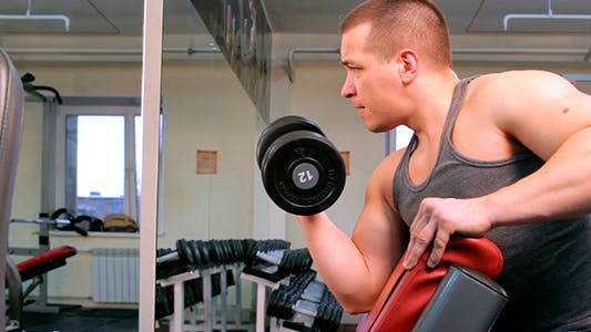 Thumbnail for The Man Shakes His Biceps 2