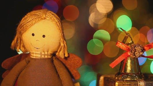Thumbnail for Mädchen Spielzeug Geschenkbox und Weihnachtsglocke