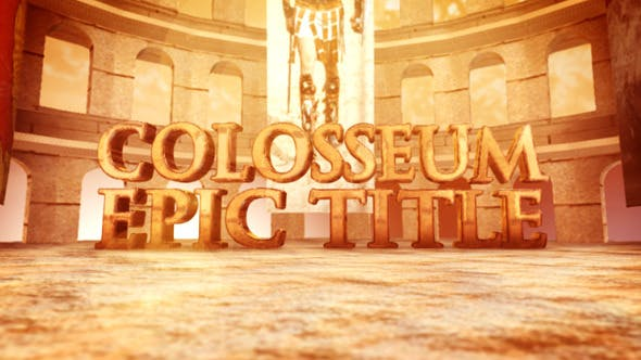 Thumbnail for Colosseum Epic Title