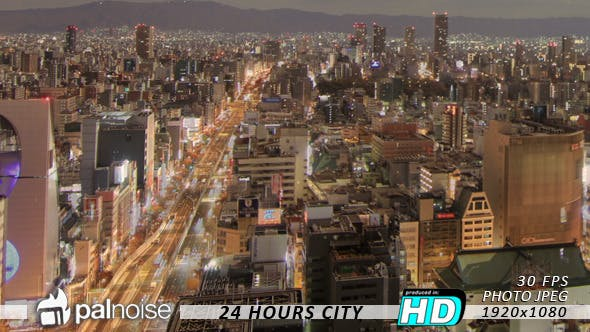 Thumbnail for 24 hours City Life