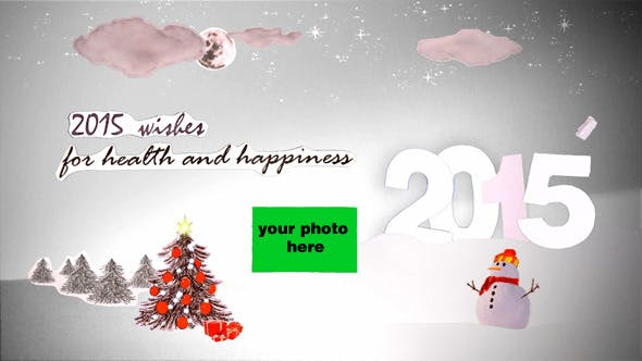 Thumbnail for New Year Greetings Cards