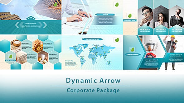 Cover Image for Dynamic Arrow - Corporate Package