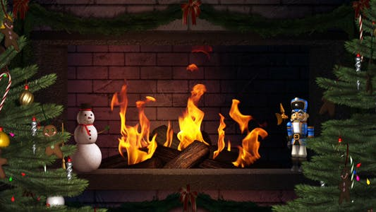 Thumbnail for Fireplace - II - Winter Holidays