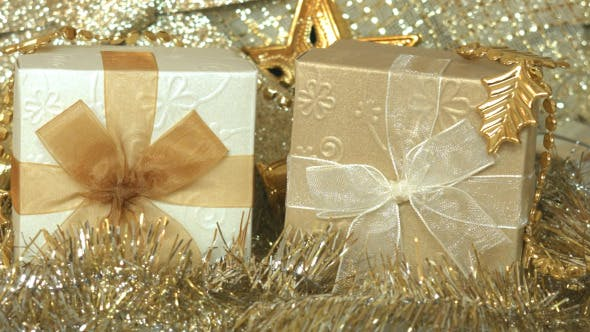 Thumbnail for Gift Box And Christmas Decoration 04