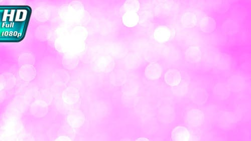 Blurred Light Pink Sparkles