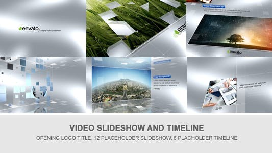 Thumbnail for Simple Video Timeline and Slideshow