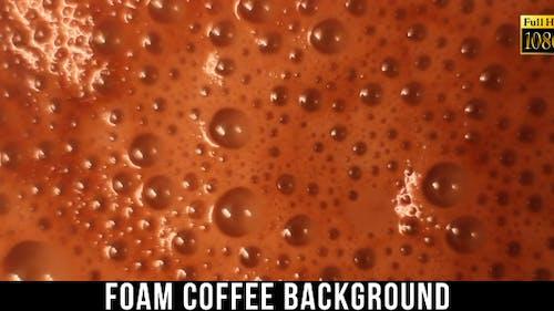 Foam Coffee Background