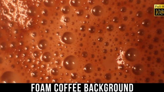 Thumbnail for Foam Coffee Background