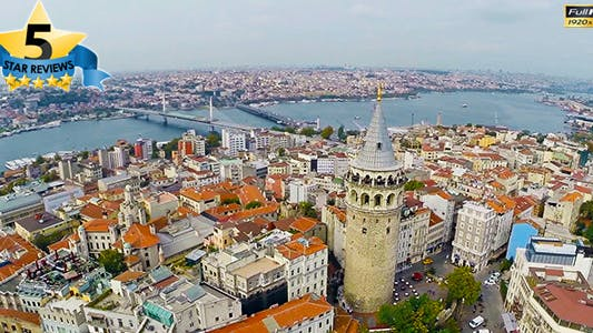 Thumbnail for Aerial View of Galata Tower