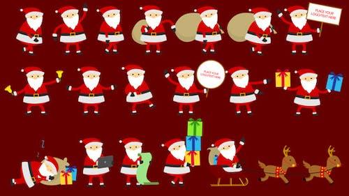 Santa Animation & Greetings