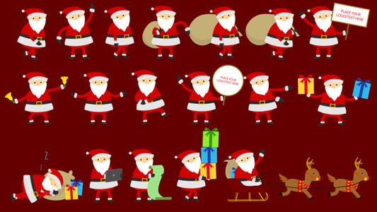 Thumbnail for Santa Animation & Greetings