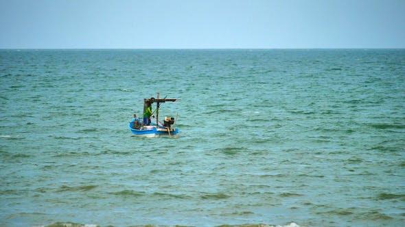 Thumbnail for Fisherman On The Sea