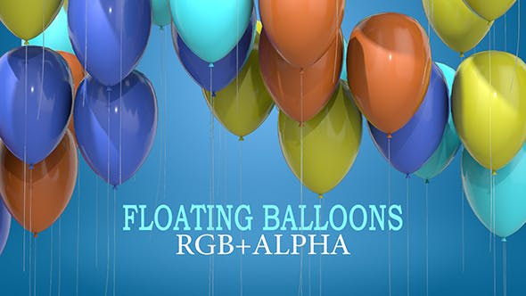 Thumbnail for Floating Balloons Pack