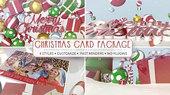 Thumbnail for Christmas Card Package