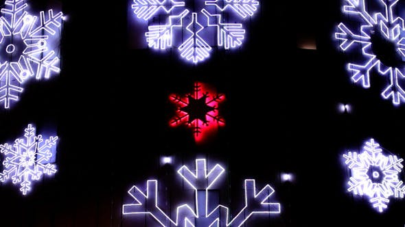 Thumbnail for Led Christmas Snowflakes Decorations Detail