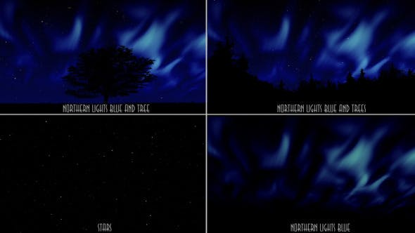 Thumbnail for Northern Lights Blue