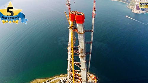 Bridge Construction in Istanbul