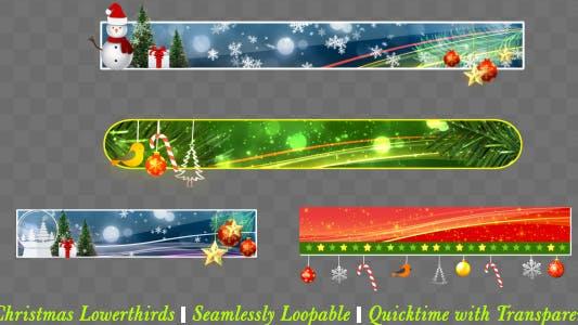 Thumbnail for Christmas Lowerthird Pack