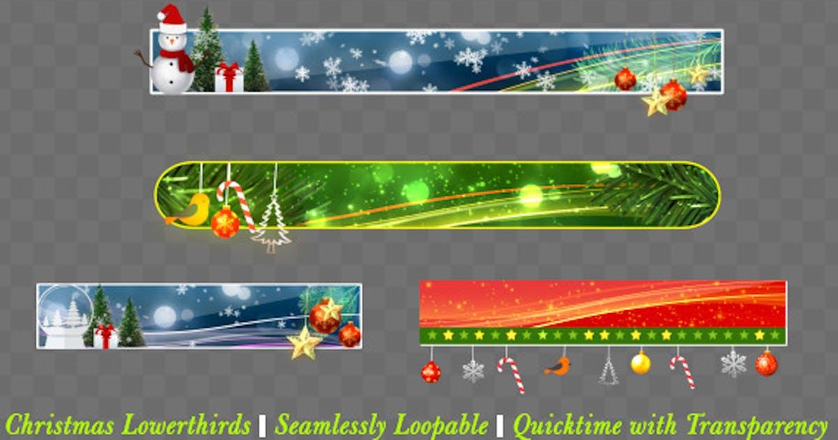Christmas Lowerthird Pack