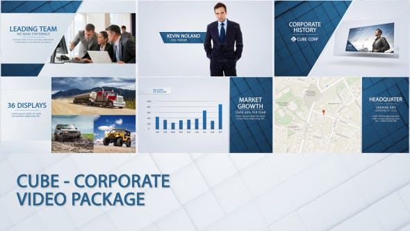 Thumbnail for Cube - Corporate Video Package