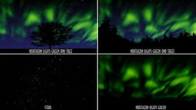 Northern Lights Green