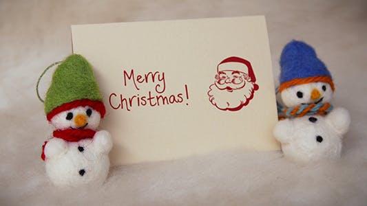 Felt Christmas & New Year Greetings