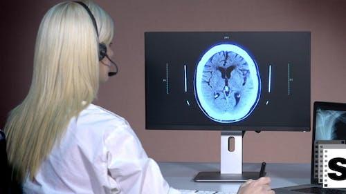 Female Doctor - Telemedicine