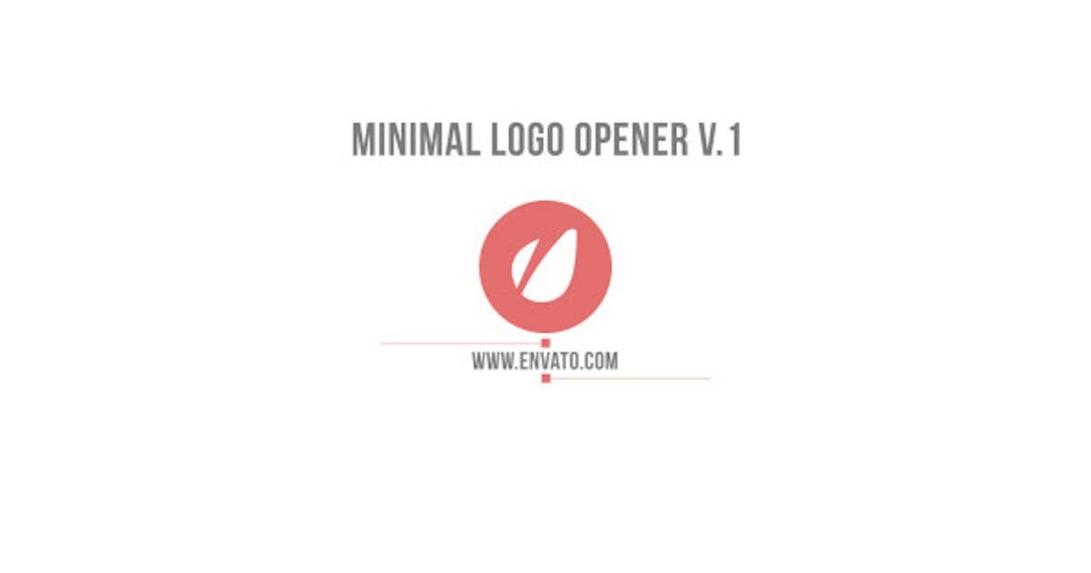 Download Minimal Logo Opener V.1 by Nick_Chvalun