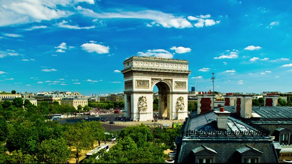 Cover Image for Arc Du Triomphe Paris France
