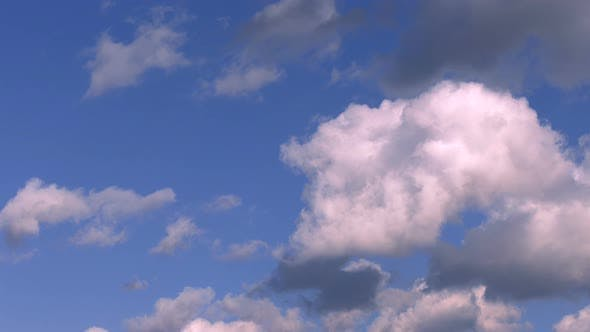 Thumbnail for Soft Clouds And Blue Sky Time Lapse