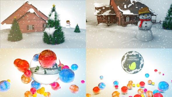 Thumbnail for Merry Christmas Logo Reveal
