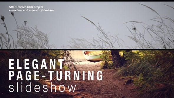 Thumbnail for Elegant Page-Turning Slideshow