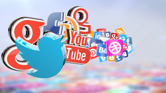 Thumbnail for 3D Social Icons
