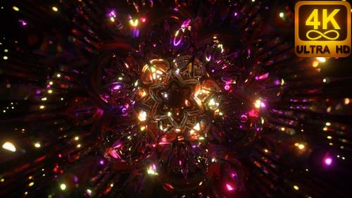 Calm Peaceful Psychedelic Sacred Geometry 3d Kundalini Chakra Third Eye Opening Repeat Pattern