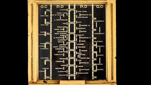 Thumbnail for Antique Radio Dial 02