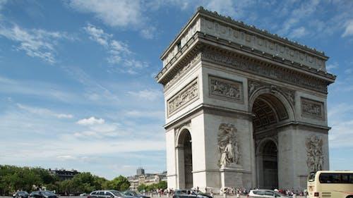 Arc Du Triomphe Paris France