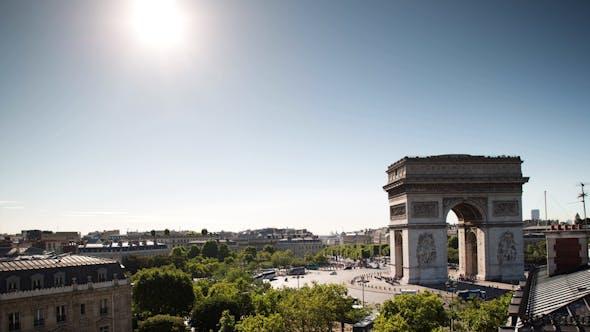 Thumbnail for Arc Du Triomphe, Paris France