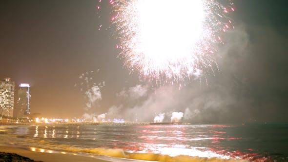 Thumbnail for Barcelona Fireworks 03