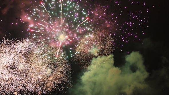 Thumbnail for Barcelona Fireworks 21