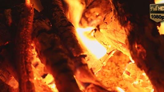 Feuer brennen