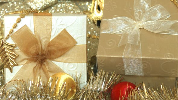 Thumbnail for Gift Box And Christmas Decoration 07