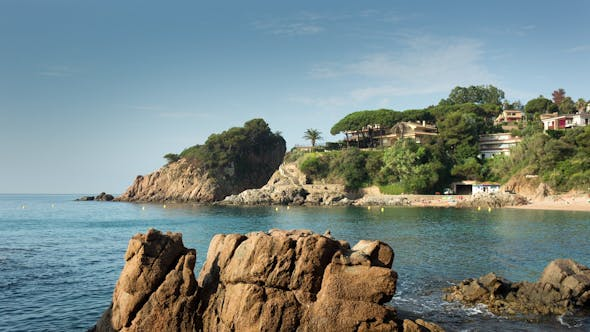 Thumbnail for Beautiful Bay On The Spanish Costa Brava Coast