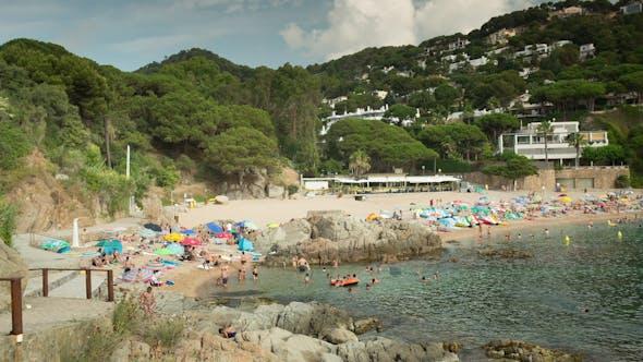 Thumbnail for Beautiful Bay On The Spanish Costa Brava Coast