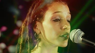 Beautiful Singer Microphone