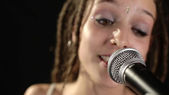 Thumbnail for Beautiful Singer With Dreadlocks